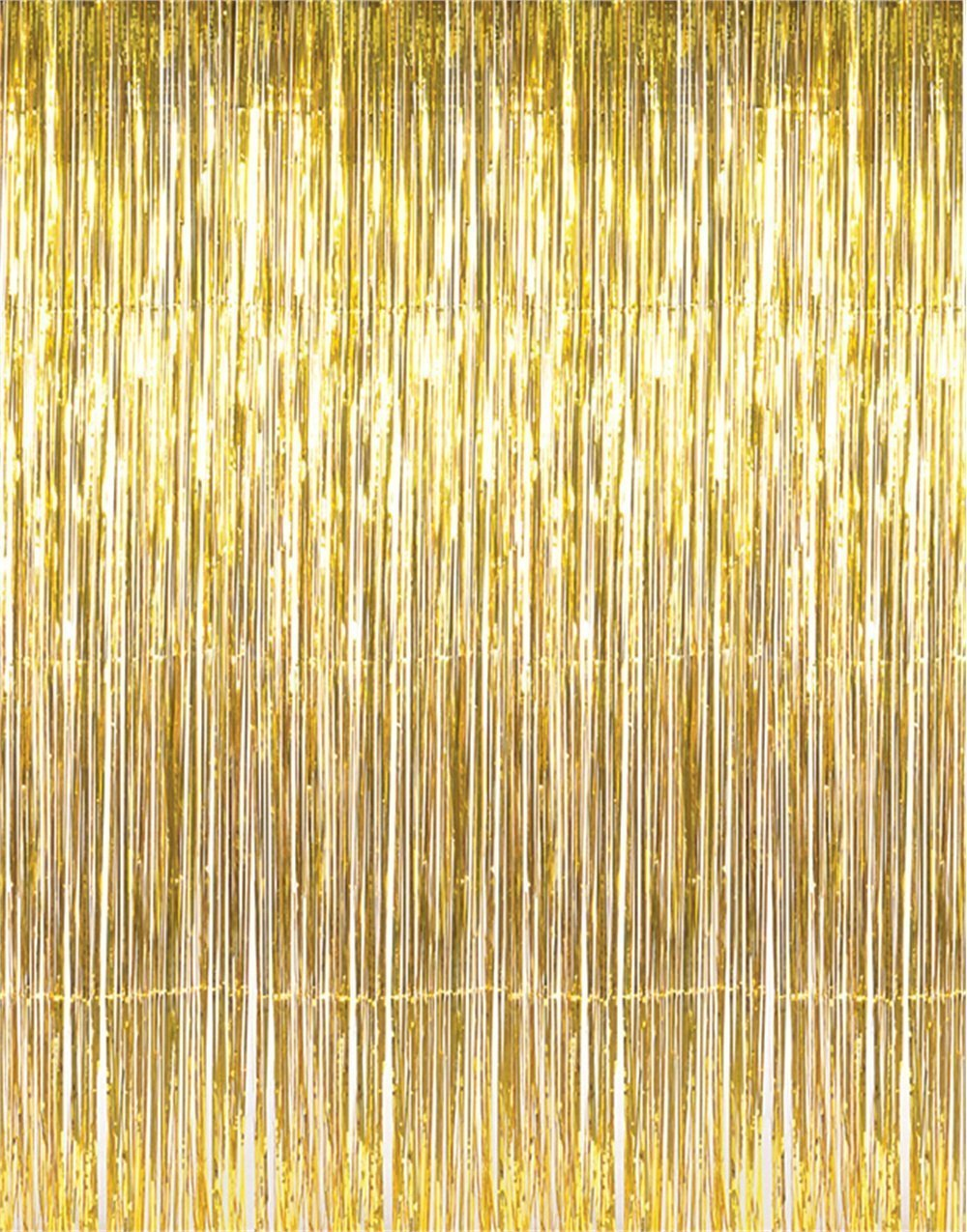 Metallic Tinsel Foil Fringe Curtains for Party Photo Backdrop Wedding Decor
