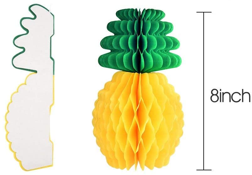 Pineapple Honeycombs Fruit Decoration