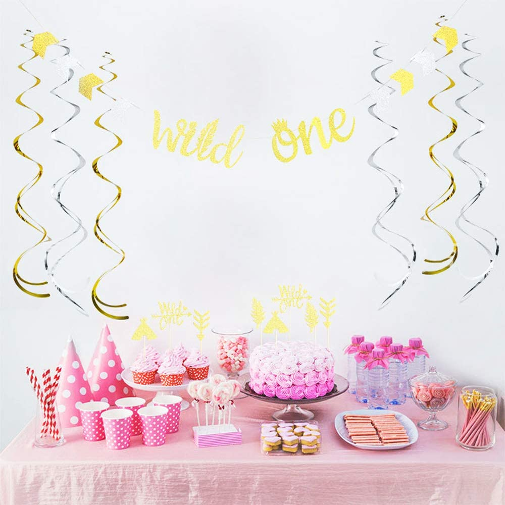 Swirl party spiral decorations ceiling decorations for baby and party